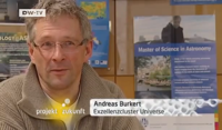 Portrait of Andreas Burkert by DWTV
