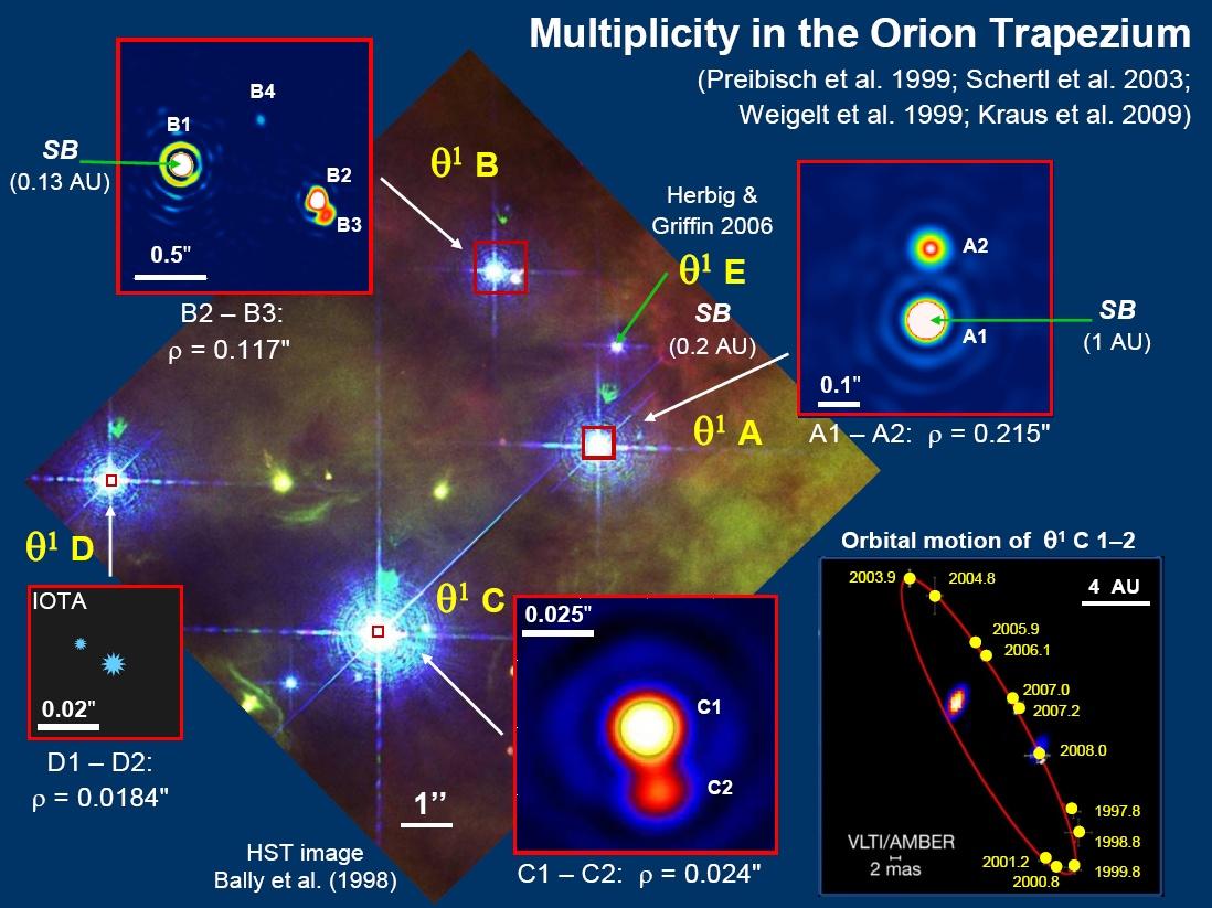 orion nebula trapezium brown dwarf - photo #31